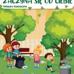 Plakat zapraszający do udziału w konkursie
