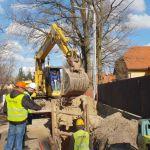 Budowa sieci kanalizacji sanitarnej w Pustelniku