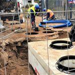 Budowa sieci kanalizacji sanitarnej