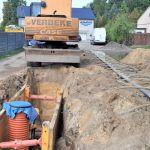 Budowa kanalizacji sanitarnej w ulicy Kujawskiej