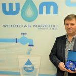 Dyrektor Kajetan Paweł Specjalski z pamiątkowym medalem