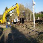 W sąsiedztwie pumptracka powstaje pompownia P40.
