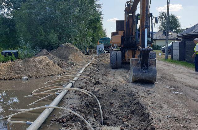 Budowa kanalizacji przy ul. Kujawskiej (2/2)