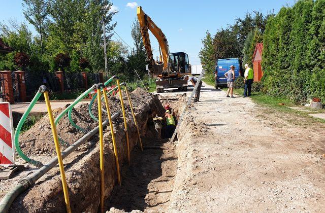 Budowa kanalizacji przy ul. Kordeckiego (2/2)