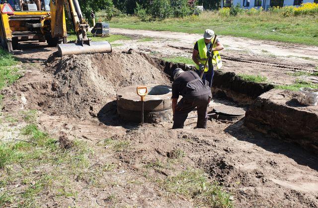 Budowa kanalizacji przy ul. Podkomorzego