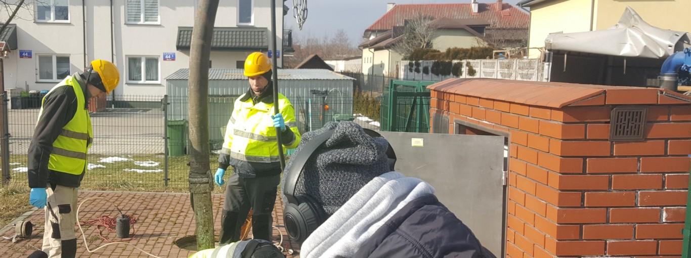 Na ratunek zapchanej kanalizacji