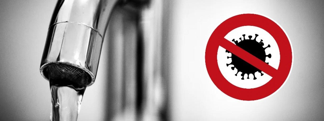 Woda wirusa się nie boi